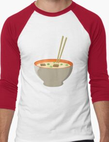 Chinese food Men's Baseball ¾ T-Shirt