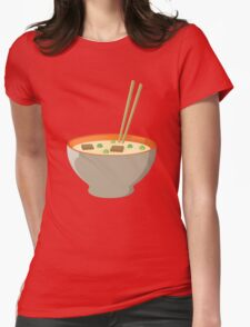 Chinese food Womens Fitted T-Shirt