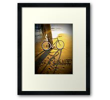 Love My Fixie Framed Print