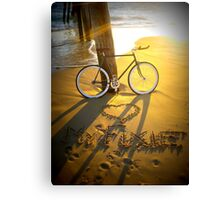 Love My Fixie Canvas Print