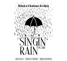 Singin' in the Rain Movie Poster Photographic Print