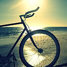 Fixie at Dusk by RobsVisions