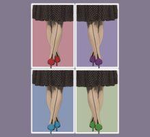 Vibrant Shoes Kids Tee