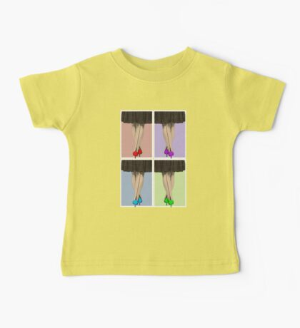 Vibrant Shoes Baby Tee
