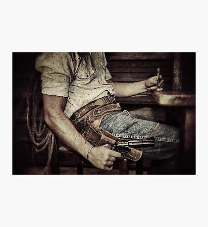 Dead man's hand Photographic Print