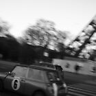 Mini at the Eiffel Tower by Potz
