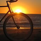 Fixie at Sunset by RobsVisions