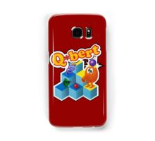 Q*Bert Logo Samsung Galaxy Case/Skin