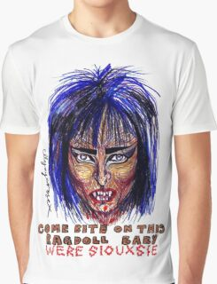 Were Siouxsie Graphic T-Shirt