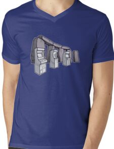 Arcade Henge Mens V-Neck T-Shirt