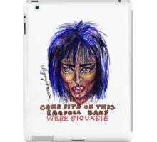Were Siouxsie iPad Case/Skin