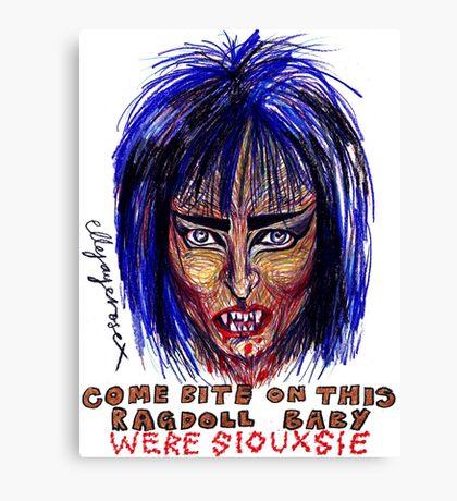 Were Siouxsie Canvas Print