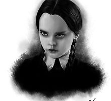 Wednesday Addams by stevencraigart