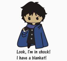 Sherlock in SHOCK Kids Tee