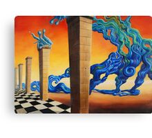 Liquid transformation of mind and matter Canvas Print