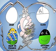 Nouvelles Options Binaires en BD Lapin et Oeufs by Binary-Options