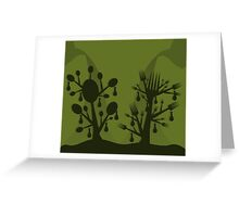 Food a tree Greeting Card