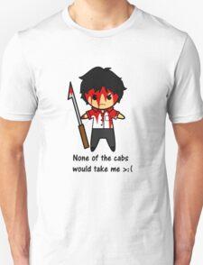 No cab for Sherlock T-Shirt