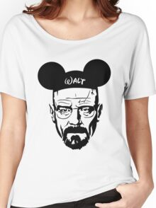 Transparent Walter Mouse Women's Relaxed Fit T-Shirt