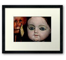Antique Dolls Framed Print