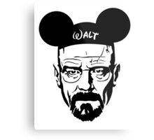 Transparent Walter Mouse Metal Print