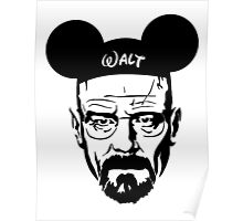 Transparent Walter Mouse Poster