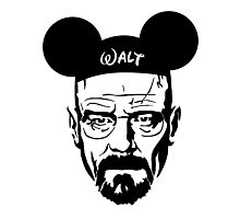 Transparent Walter Mouse Photographic Print