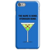 Bond, Hydrogen Bond. iPhone Case/Skin