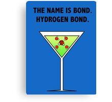 Bond, Hydrogen Bond. Canvas Print