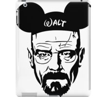 Transparent Walter Mouse iPad Case/Skin