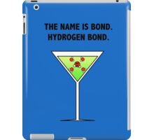 Bond, Hydrogen Bond. iPad Case/Skin