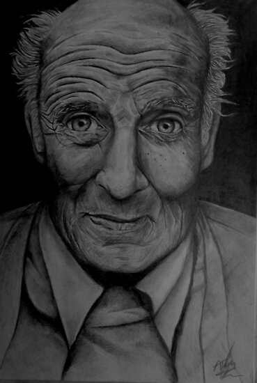 Old man by Andrew Taylor