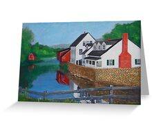 Londonderry, Vermont Greeting Card