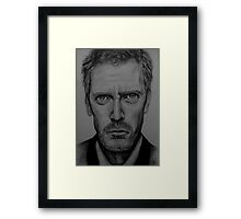 Hugh Laurie Framed Print