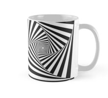 Spiral Geometric Transparency  Mug