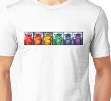 Rainbow of Gorilla Mug Shots Unisex T-Shirt