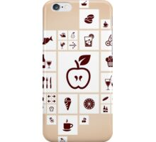 Food the designer iPhone Case/Skin
