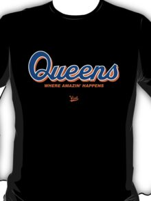 "VICT ""Queens is Amazin"" T-Shirt T-Shirt"