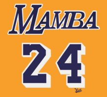 "VICT ""Mamba 24"" Gold T-Shirt by Victorious"