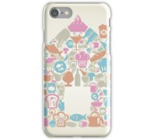 Food the house iPhone Case/Skin