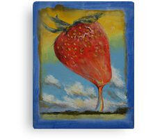 Strawberry Rainbow Canvas Print