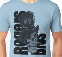 skull usa newyork by rogers bros Unisex T-Shirt