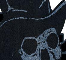skull usa newyork by rogers bros Sticker