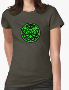 Hail Cthulhu (filled) Womens Fitted T-Shirt