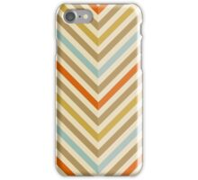 Chevron stripes. Pastel colors. iPhone Case/Skin