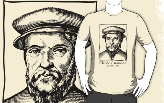 Claude Garamond by ikado