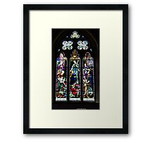 Sterling Window Framed Print