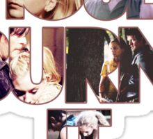 Daryl&Beth quote Sticker