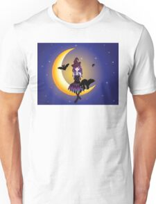 Witch on the Moon 2 Unisex T-Shirt