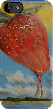 Strawberry Rainbow Taffy by Michael Creese